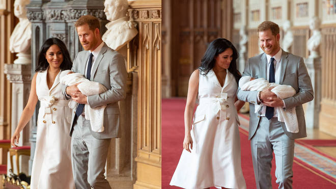 Meghan glowed in ethereal white