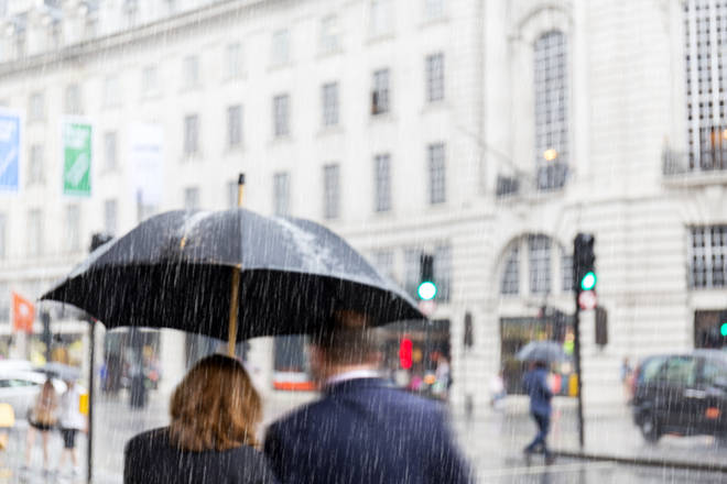 It's going to be a wet week for Brits