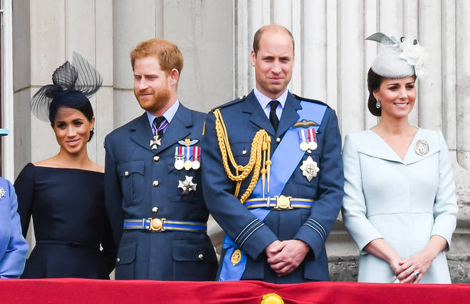 Brothers Prince William and Prince Harry are among the Queen's grandchildren