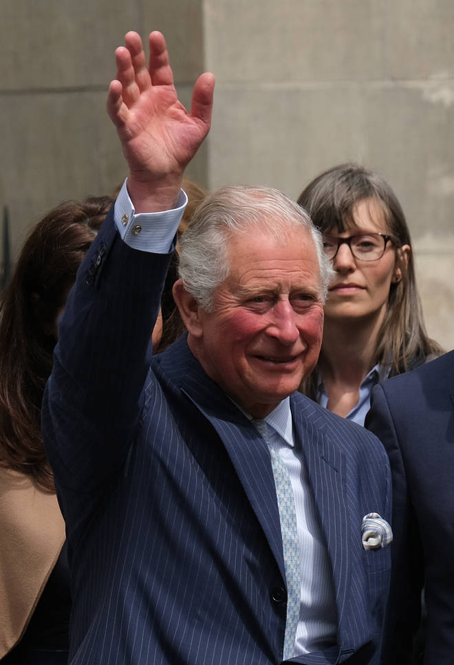Prince Charles is the Queen's eldest son and first in line to the British throne