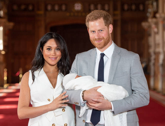Meghan Markle and Prince Harry welcomed their baby on Monday