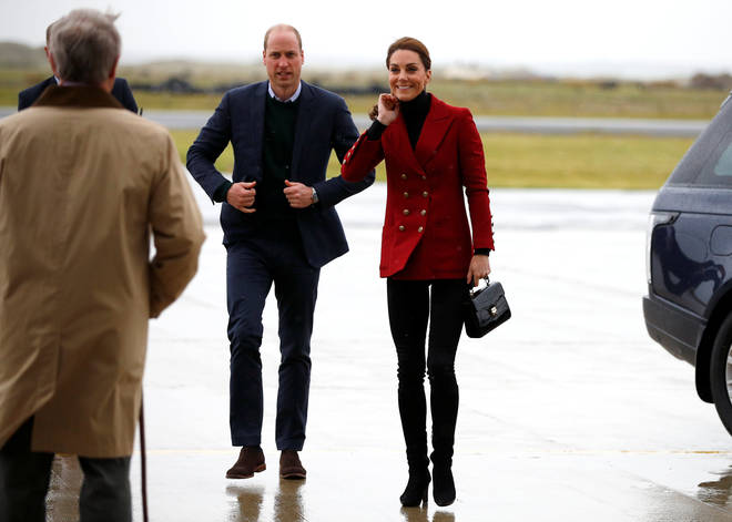 Kate Middleton and Prince William visited Wales during the royal baby photocall