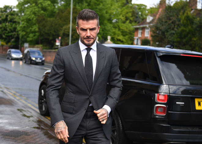 David Beckham has been banned from driving for six months