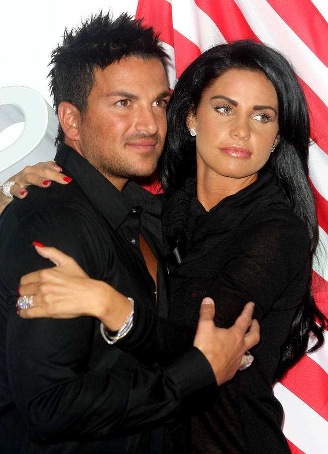 Katie Price And Peter Andre pictured in 2009