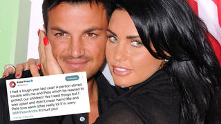 Katie Price told the world that she and Peter Andre still love each other
