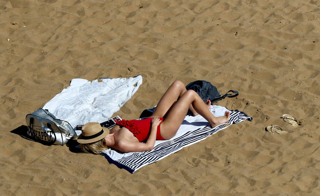 Brits will bask in the sun over the next week as temperatures will rival Italy