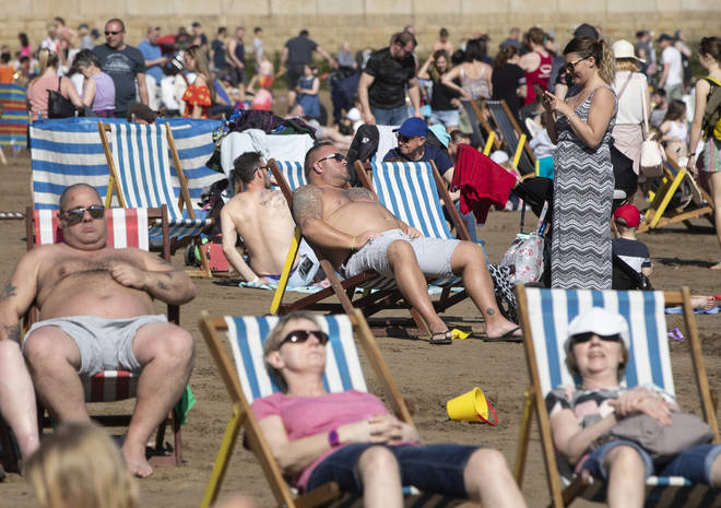 Brits will flock to the beach over the next week due to rising temperatures