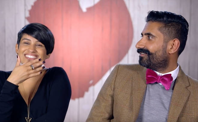 Hema and Ajai married after meeting on the Channel 4 dating show