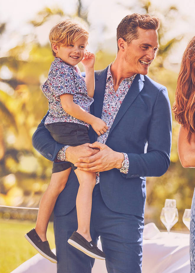 Matalan released matching dad and kid shirts earlier this year