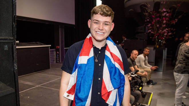 Michael Rice will be representing the UK at Eurovision