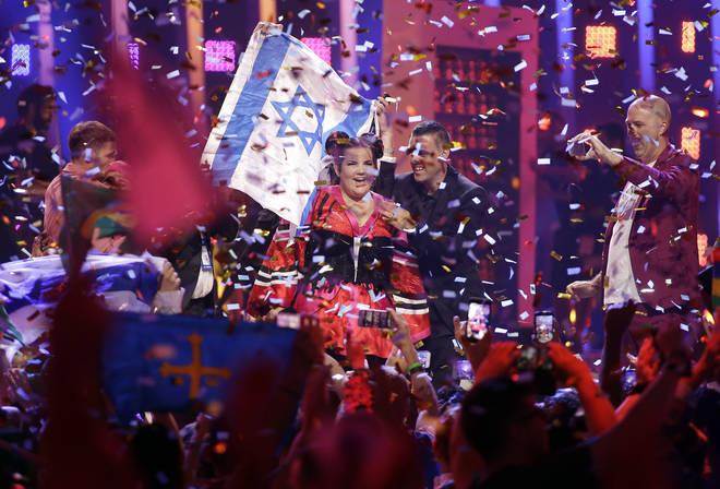 Netta Barzilai won Eurovision in 2018