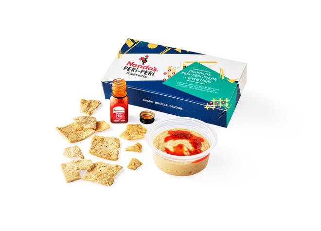 Among the snacks available on Jet2's flights is the Peri-Peri box
