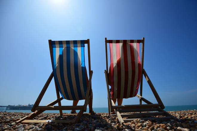Some parts of the UK will enjoy temperatures as high as 24C