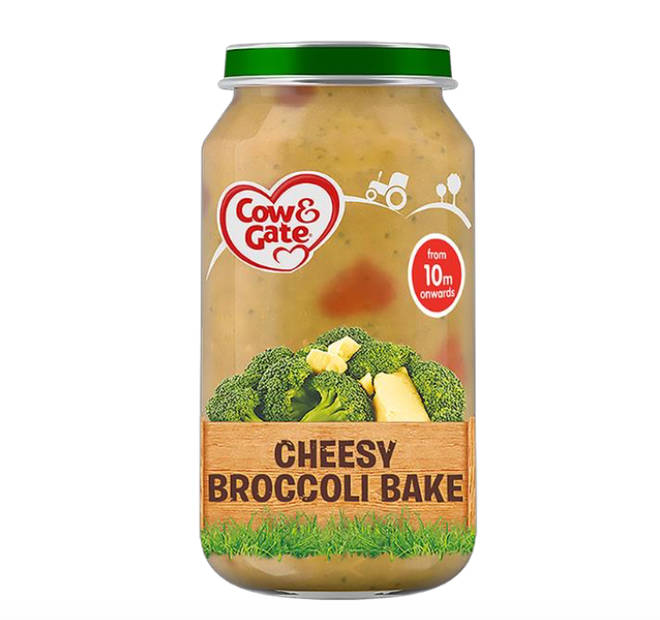 Parents have been urged to return one batch of Cow & Gate's Cheesy Broccoli Bake