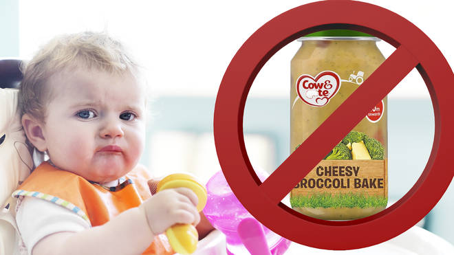 Cow & Gate have urged parents not to check their baby food