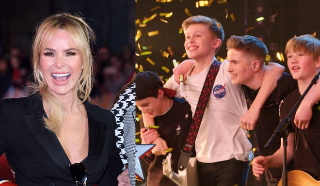 Amanda Holden pressed her Golden Buzzer for Chapter 13 at the weekend