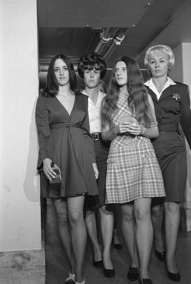 Patricia Krenwinkel and Susan Atkins in were members of the Manson Family