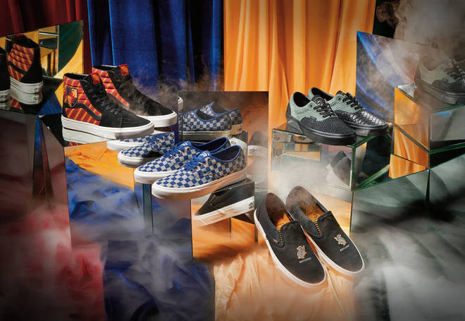 Vans are launching a new Harry Potter range