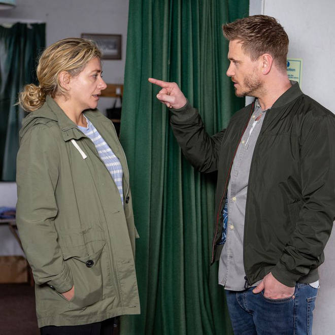 Maya Stepney pleads with David to let her go