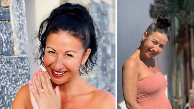 Hayley Tamaddon is engaged to her boyfriend Adrian