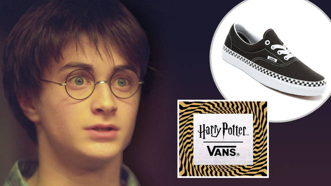 Vans are releasing a new Harry Potter range and they look SO cool
