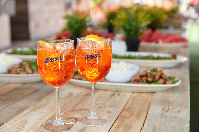 Enjoy the inimitable taste of Aperol Spritz at home with our perfect recipe