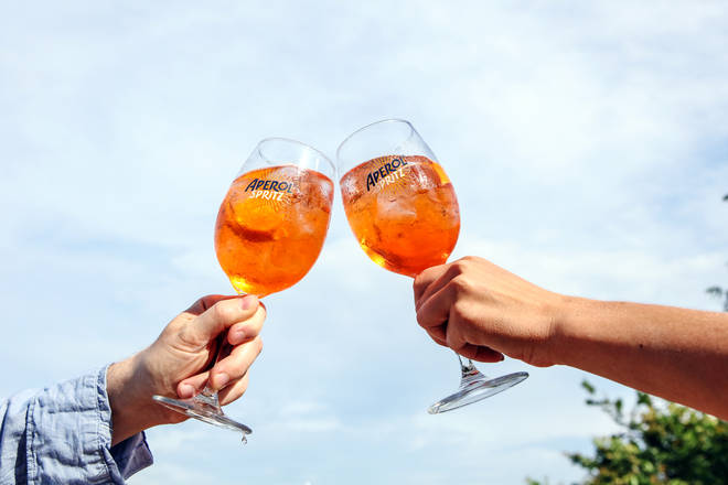 Aperol Spritz turns 100 this year... thats a lot of 'salutes!'