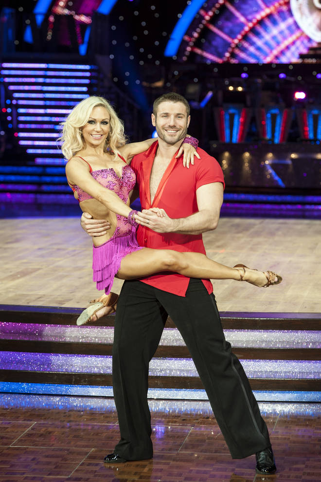 Ben left his wife of 11 years for Kristina, his Strictly dance partner