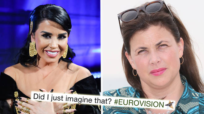 Kirstie Allsopp responds to Graham Norton after the Eurovision host likened her to Albania's entry