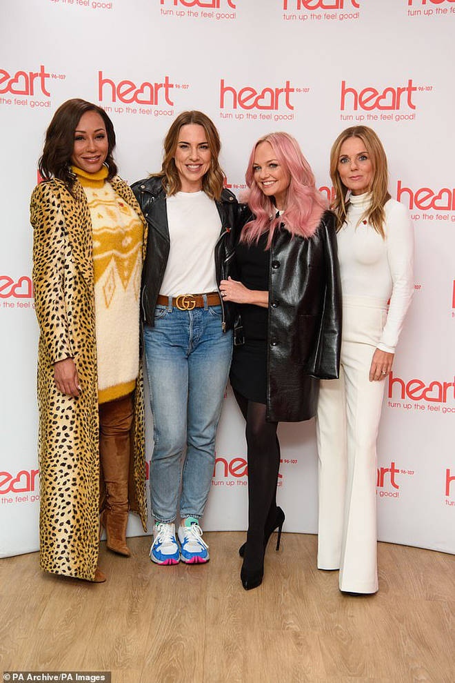 Mel B's medical emergency comes less than a week before the tour is due to kick off (pictured with bandmates)