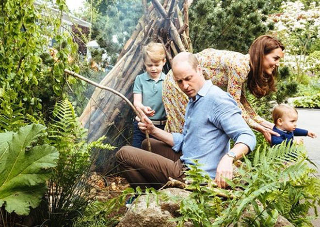 Kate Middleton made the space to help inspire families to get outside