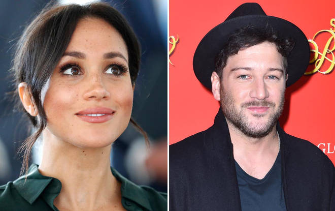 Meghan Markle and Matt Cardle reportedly messaged online