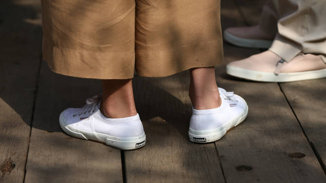 The Superga trainers are only £50