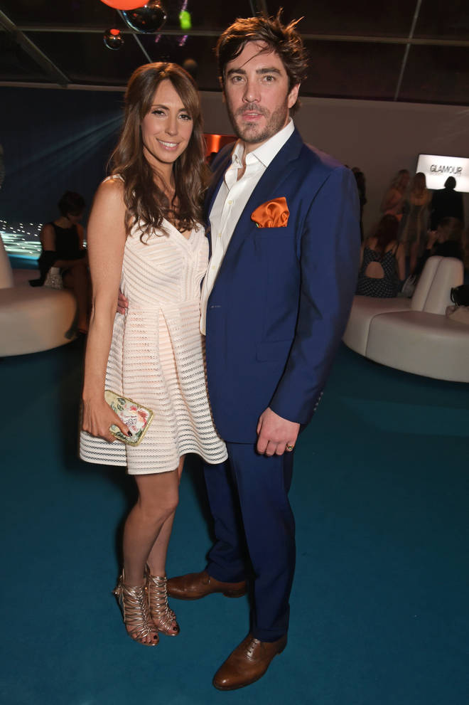 Alex Jones and Charlie Thomson have welcomed their second baby