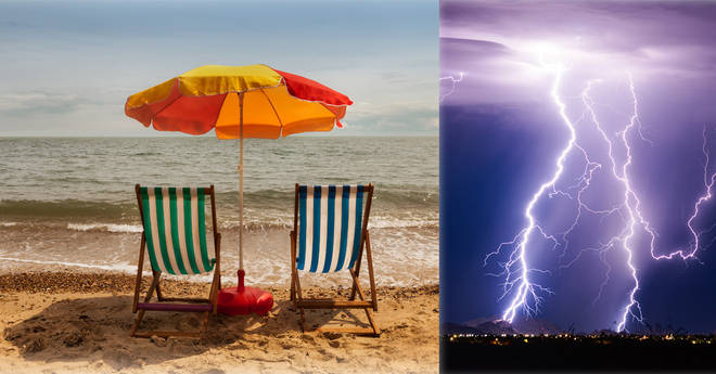 Britain could be hit by thunderstorms after a sunny week