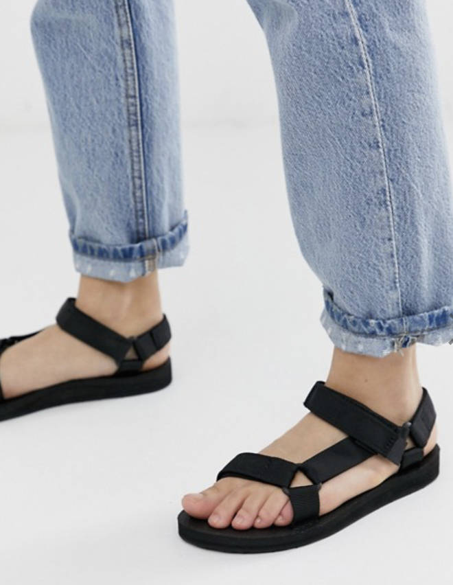 ASOS stock the Teva sandals which seem to be leading the pack