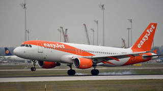 30 easyJet flights to and from Italy have been cancelled today