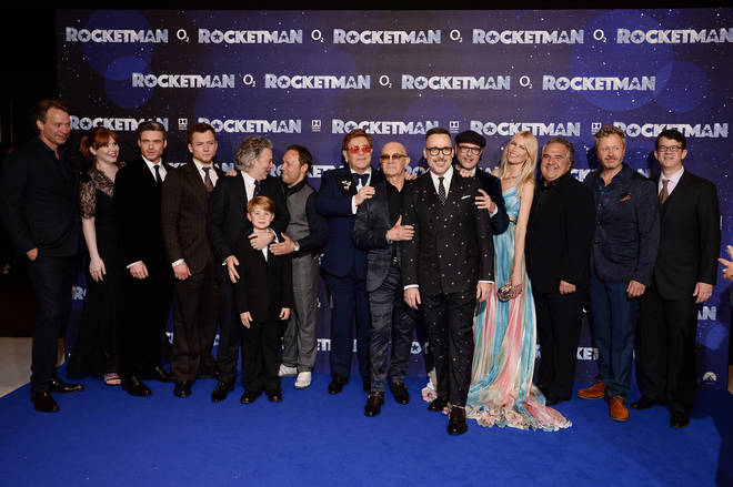 The London premiere for Rocketman kicked off in Leicester Square on Monday night