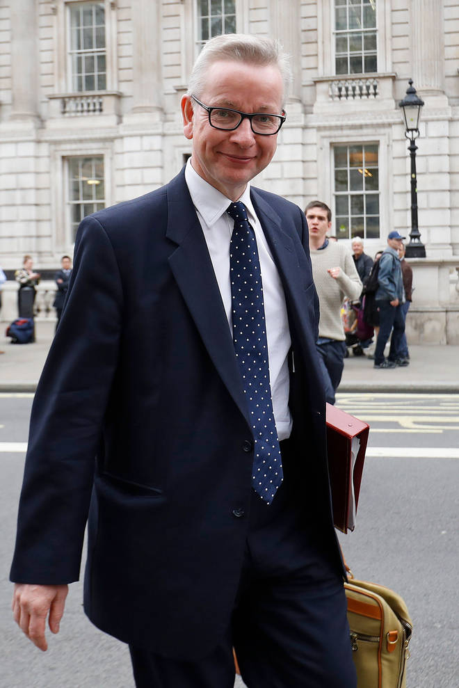 Michael Gove confirmed the plastic straw ban