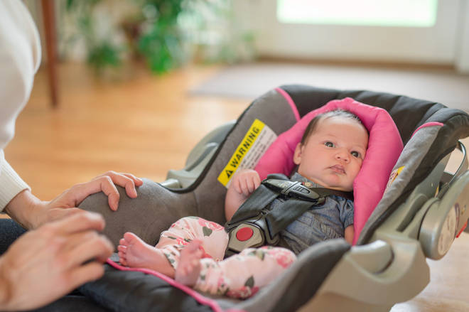 The research found that out of 12,000 infant sleep-related deaths, 219 of these suffocated in car seats