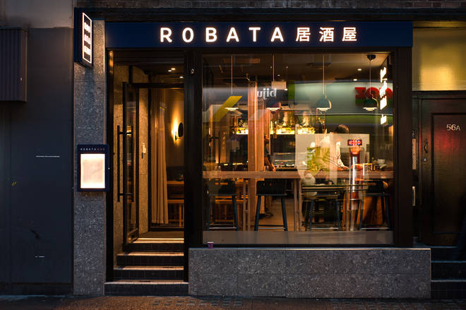 You can find Robata on Old Compton Street