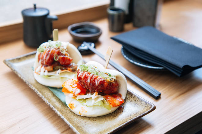 The Chicken Bao Buns are only £12 and will blow your socks off