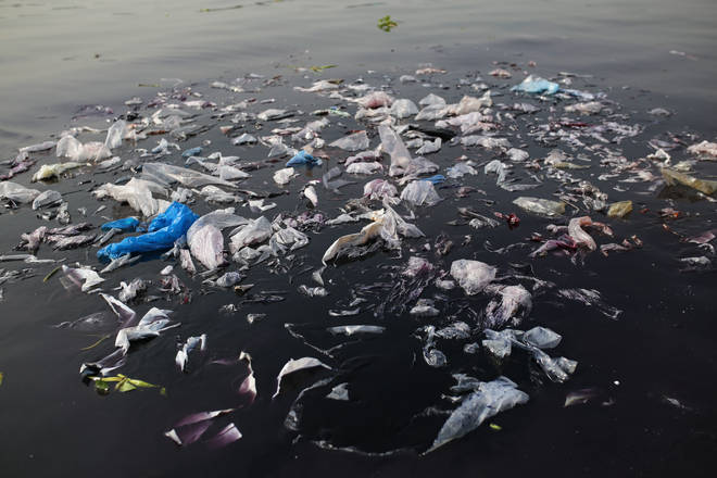 It's estimated that 150million tonnes of plastic are currently in the ocean