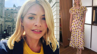 Holly Willoughby opted for an unusual dress on Thursday
