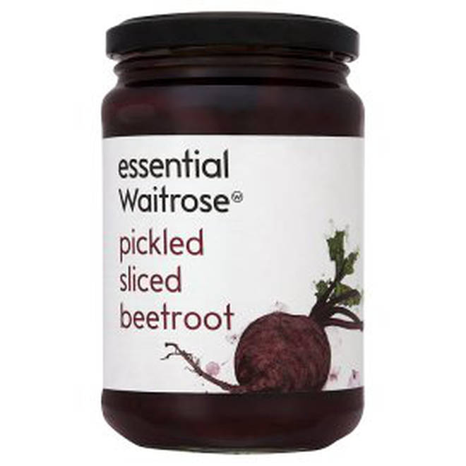 Waitrose has recalled their sliced beetroot