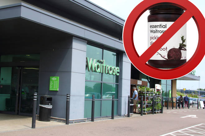 The Food Standards Agency have deemed the product 'unsafe'