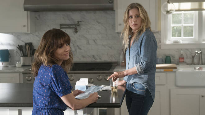Dead to Me follows world-hating widow Jen and her mysterious new friend Judy as they navigate the world of grief.