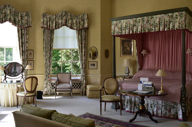 One of the Royal Suites at Hartwell House