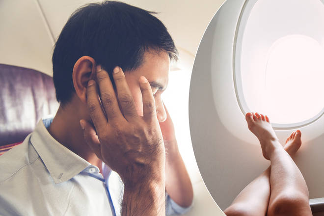 There's an important reason you shouldn't go barefoot on a plane