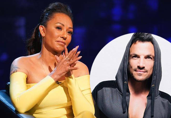 Mel B was quizzed about her relationship with ex-boyfriend Peter Andre on Piers Morgan's Life Stories.